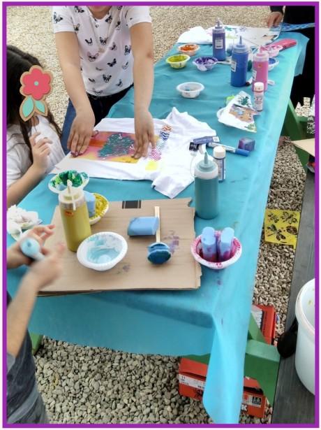 פעילות יצירה קבוצתית לילדים
