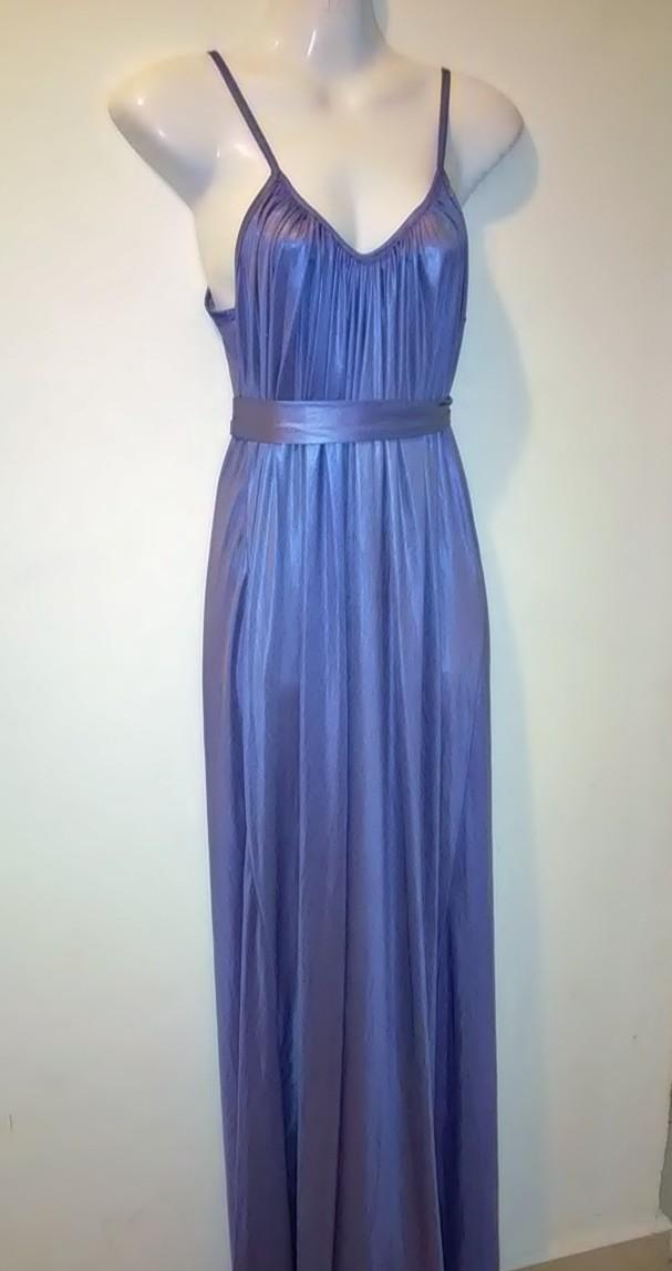 צביעת שמלה מסלמון לכחול- אחרי